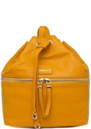 Рюкзак Carla C. Цвет: желтый