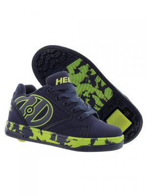 Роликовые кроссовки Heelys Propel 2.0.770808(13C). Цвет: салатовый, темно-синий