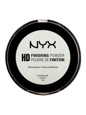 Пудра HD. HIGH DEFINITION FINISHING POWDER - MINT GREEN NYX PROFESSIONAL MAKEUP. Цвет: светло-зеленый