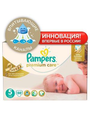 Подгузники Pampers Premium Care Подгузники, 11-18 кг, 88 шт.. Цвет: белый
