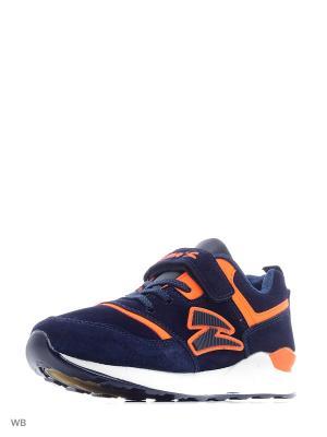 Кроссовки Sigma. Цвет: темно-синий, оранжевый