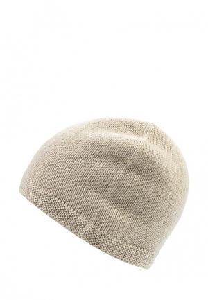 Комплект шапка и шарф MayBae. Цвет: бежевый