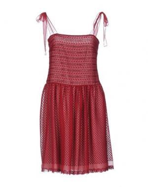 Короткое платье PHILOSOPHY DI LORENZO SERAFINI. Цвет: пурпурный