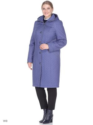 Пальто MONTSERRAT. Цвет: серо-голубой