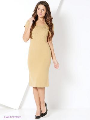Платье Magnolica. Цвет: желтый