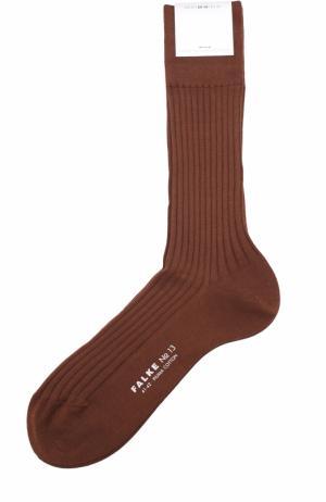 Хлопковые носки Falke. Цвет: светло-коричневый