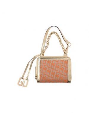 Бумажник DOLCE & GABBANA. Цвет: оранжевый