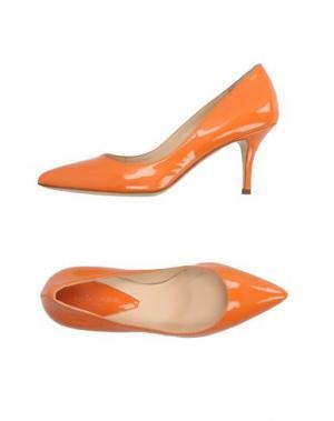 Туфли ATELIER MERCADAL. Цвет: оранжевый