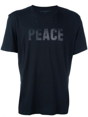 Футболка Peace & Freedom John Varvatos. Цвет: чёрный