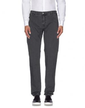 Повседневные брюки 40WEFT. Цвет: стальной серый