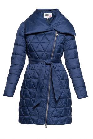Пальто ODRI Mio. Цвет: темно-синий