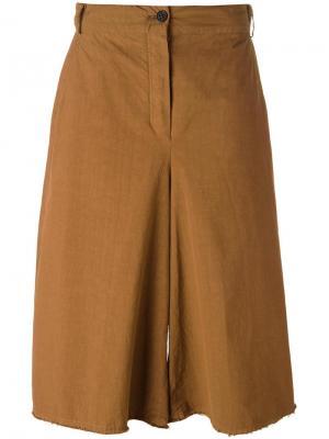 Укороченные брюки Pris Damir Doma. Цвет: жёлтый и оранжевый