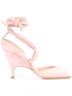 Strappy sandals Alchimia Di Ballin. Цвет: розовый и фиолетовый