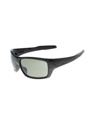 Солнцезащитные очки Gusachi. Цвет: черный, серый