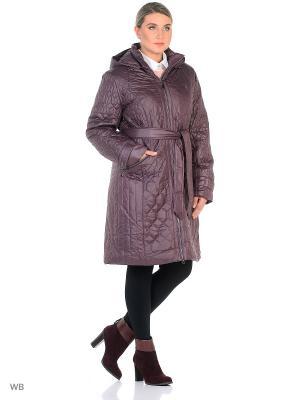 Пальто OSTRICH. Цвет: лиловый