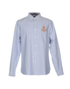 Pубашка POLO JEANS COMPANY. Цвет: небесно-голубой