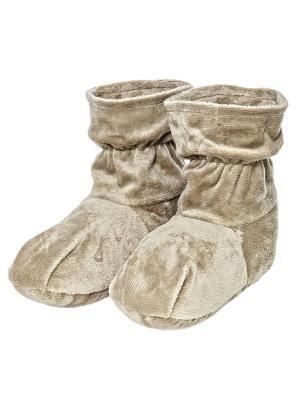 Ароматические травяные носки-грелки Теплые объятия. Цвет: бежевый