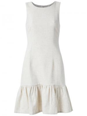 Платье без рукавов Isolda. Цвет: белый