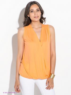 Блузка GUESS. Цвет: оранжевый