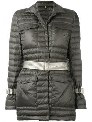 Дутая куртка Fay. Цвет: зелёный