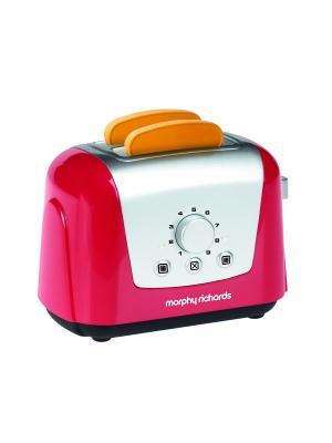 Тостер Morphy Richards (2 имитационных кусочка хлеба в комплекте) Casdon. Цвет: розовый