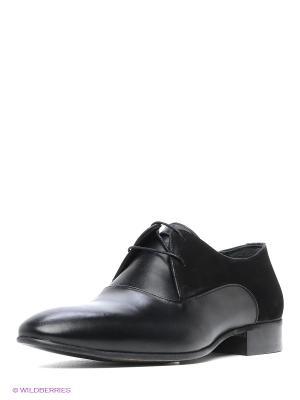 Туфли Atiker. Цвет: черный