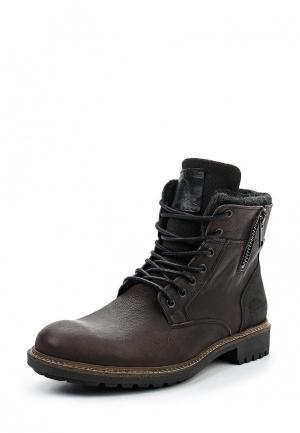 Ботинки Bullboxer. Цвет: коричневый