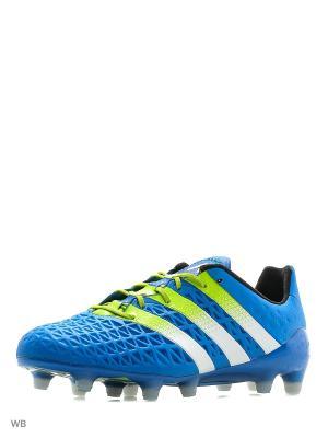Бутсы ACE 16.1 FG Soccer Cleats Adidas. Цвет: синий