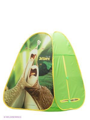 Палатка ЭПИК Маб и Граб Игралли. Цвет: зеленый, бежевый, желтый