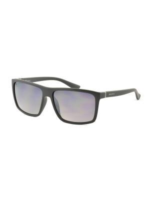 Солнцезащитные очки MEGAPOLIS. Цвет: серый