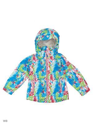 Куртка Icepeak. Цвет: голубой, розовый