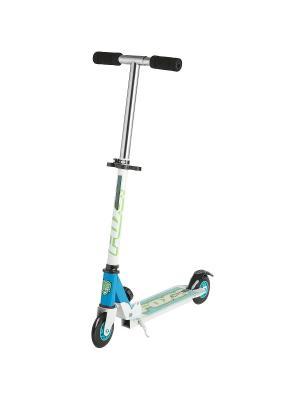 Самокат городской Foxx Smiles cталь PVC колеса 100мм ABEC-7. Цвет: голубой