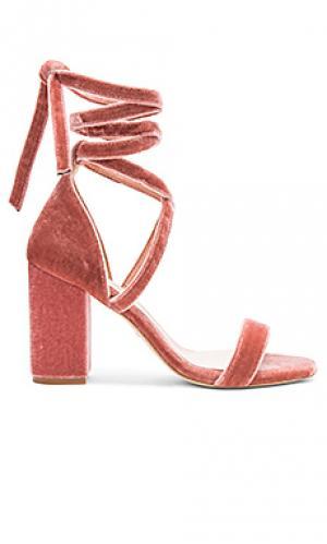 Туфли на каблуке layla RAYE. Цвет: rose