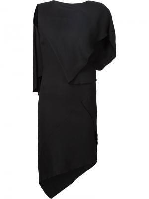 Платье Black shadow Jean Pierre Braganza. Цвет: чёрный