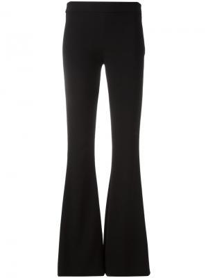 Расклешенные брюки Moschino. Цвет: чёрный