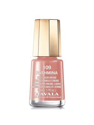 Лак для ногтей тон 109 Pashmina Mavala. Цвет: коричневый