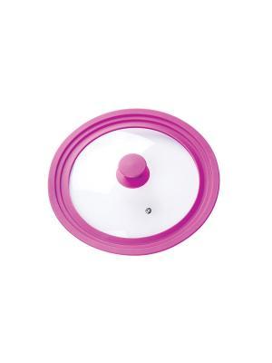 Крышка стеклянная Miolla. Цвет: фиолетовый