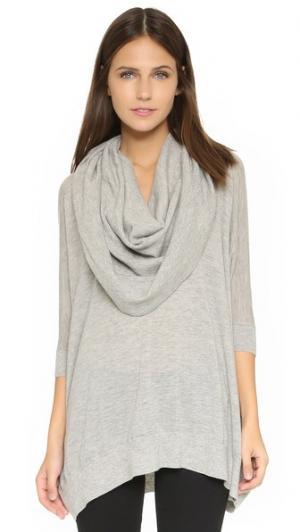 Кашемировый свитер Bop Basics. Цвет: серый