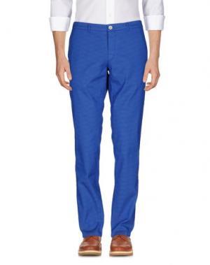 Повседневные брюки DOMENICO TAGLIENTE. Цвет: синий