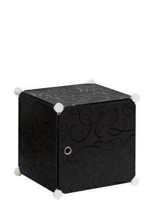 Система хранения El Casa. Цвет: черный