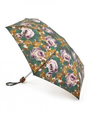 Зонт механический Цветы  by Fulton Cath Kidston. Цвет: зеленый