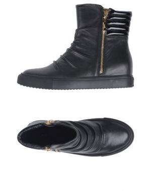 Высокие кеды и кроссовки ATELIER MERCADAL. Цвет: черный