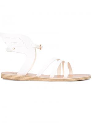 Сандалии-гладиаторы Ancient Greek Sandals. Цвет: белый