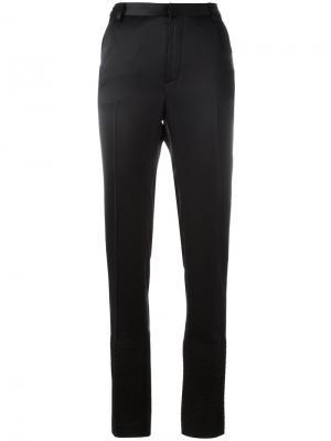 Классические брюки Area. Цвет: чёрный