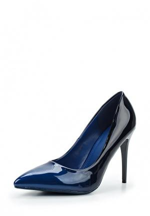 Туфли Style Shoes. Цвет: синий