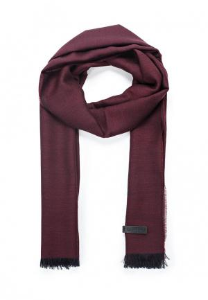 Палантин Calvin Klein Jeans. Цвет: бордовый