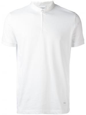 Классическая футболка Dondup. Цвет: белый
