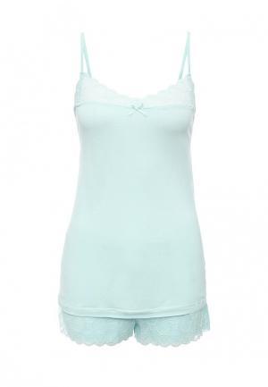 Пижама Relax Mode. Цвет: голубой