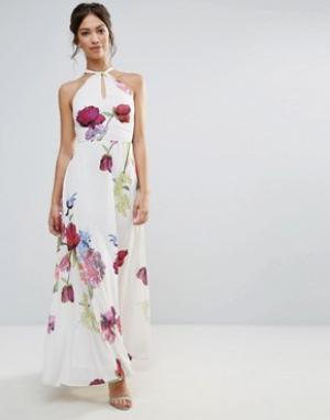 Hope and Ivy Платье макси &. Цвет: фиолетовый