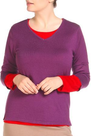 Комплект: 2 пуловера HELENA VERA. Цвет: лиловый